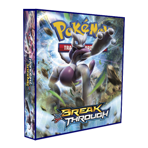 Álbum Pokémon para cards tipo fichário - XY BREAK THROUGH