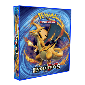Álbum Pokémon para cards tipo fichário - XY EVOLUTION