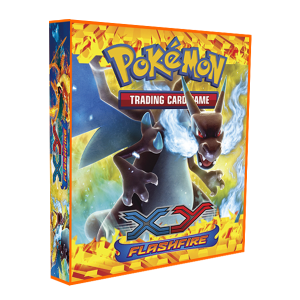 Álbum Pokémon para cards tipo fichário - XY FLASH FIRE