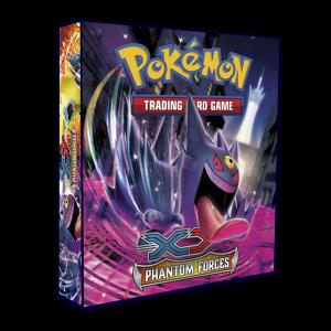 Álbum Pokémon para cards tipo fichário - XY PHANTON FORCES
