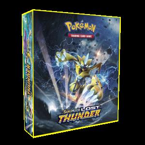 Álbum Pokémon para cards tipo fichário - SM LOST TUNDER