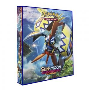 Álbum Pokémon para cards tipo fichário - SM GUARDIANS RISING modelo 1 (azul)