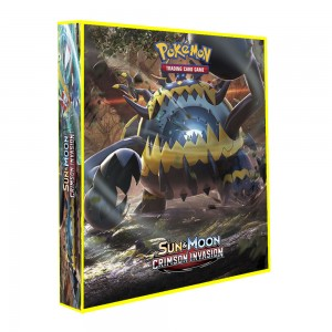Álbum Pokémon para cards tipo fichário - SM CRIMSON INVASION