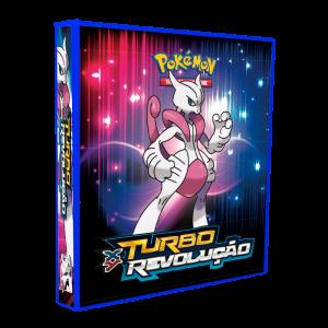 Álbum Pokémon XY TURBO REVOLUÇÃO modelo 1