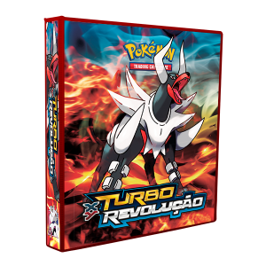 Álbum Pokémon XY TURBO REVOLUÇÃO modelo 2