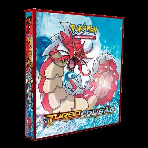 Álbum Pokémon XY 9 TURBO COLISÃO modelo 1
