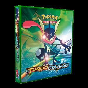 Álbum Pokémon XY 9 TURBO COLISÃO modelo 2
