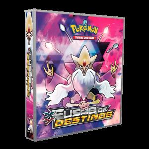 Álbum Pokémon XY 10 FUSÃO DE DESTINOS modelo 2