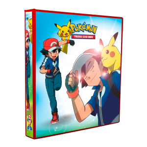 Álbum Pokémon ASH KETCHUM (Treinador)