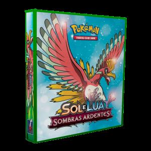 Álbum Pokémon SOL & LUA Sombras Ardentes