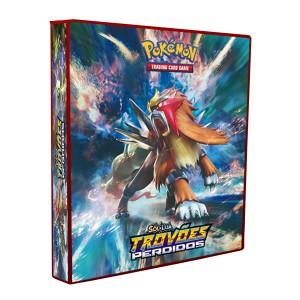 Álbum Pokémon SOL & LUA Trovões Perdidos