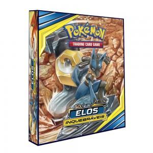 Álbum Pokémon SOL & LUA Elos Inquebráveis