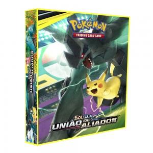Álbum Pokémon SOL & LUA União de Aliados
