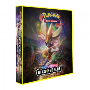 Álbum Pokémon ESPADA & ESCUDO Rixa Rebelde