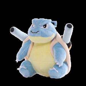 Pelúcia Turma Pokémon MEGA BLASTOISE (20 cm) - Importada