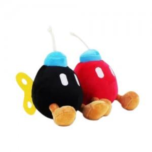 Pelúcia Turma Mario Bros BOMBAS (15 cm) - 2 itens/lote (2 cores) - Importada