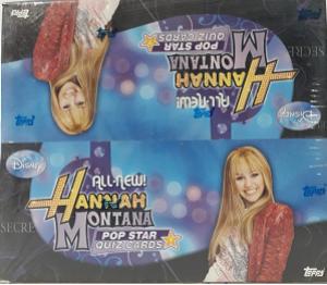 Hanna Montana Pop Star Quiz Cards Box (24/07)