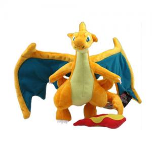Pelúcia Turma Pokémon MEGA CHARIZARD Y (25 cm)  - Importada