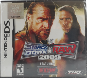 DS Smackdown vs Raw 2009