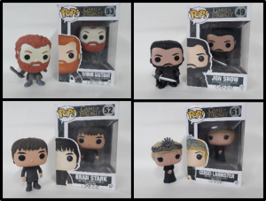 FUNKO GAMES OF THRONES