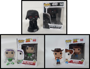 FUNKO STAR WARS * TOY STORY