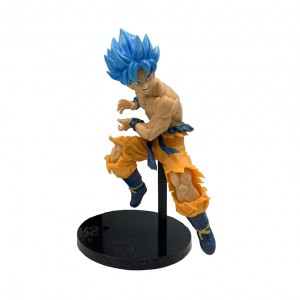 Action Figures DRAGON BALL SON GOKU BLUE (18 cm) - Importada