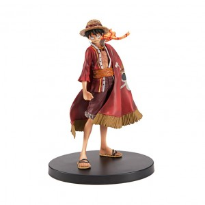 Action Figure ONE PIECE LUFFY (18 cm) - Importada