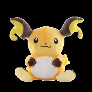 Pelúcia Turma Pokémon MEGA RAICHU (20 cm) - Importada