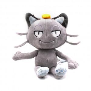 Pelúcia Turma Pokémon MEOWTH SHINY (18 cm) - Importada