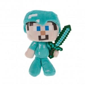 Pelúcia Minecraft STEVE (18 cm) - Importada