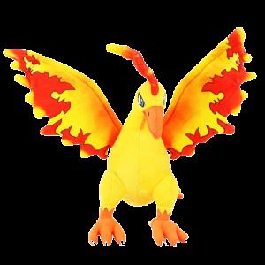 Pelúcia Turma Pokémon MOLTRES (30 cm) - Importada