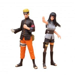 Action Figure NARUTO NARUTO & HYUGA  (16 cm) - 2 itens/lote - Importada