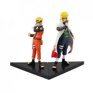 Action Figure NARUTO NARUTO & MINATO  (16 cm) - 2 itens/lote - Importada