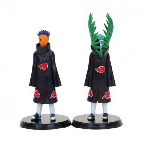 Action Figure NARUTO NARUTO & OBITO  (16 cm) - 2 itens/lote - Importada