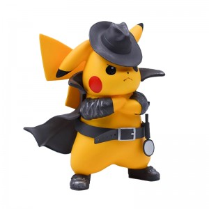 Action Figure POKÉMON PIKACHU DETETIVE (12 cm) - Importada