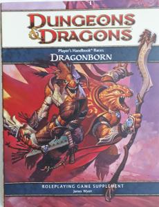 D&D Livro de RPG 4ª Edição - Dragonborn (32 p.)
