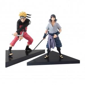 Action Figure NARUTO NARUTO & SASUKI  (16 cm) - 2 itens/lote - Importada