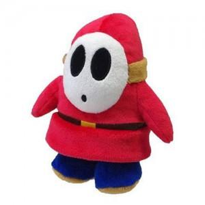 Pelúcia Turma Mario Bros SHY GUY (22cm)