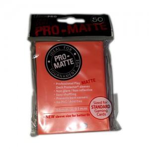 SLEEVE Protetor de Cards ULTRAPRO PRO-MATTE Colorido (50 folhas)