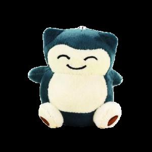 Chaveiro Pelúcia Turma Pokémon SNORLAX (9 cm) - 3 itens/lote - Importado