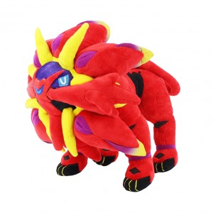 Pelúcia Turma Pokémon SOLGALEO SHINY(30 cm) - Importada