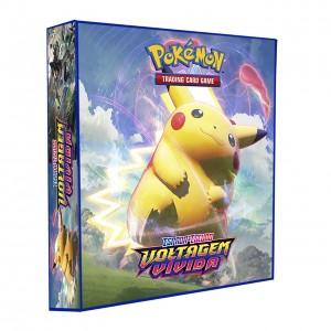 ALBUM Pokémon para cards tipo fichário - ESPADA&ESCUDO; Voltagem vivida