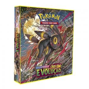 ALBUM Pokémon para cards tipo fichário - ESPADA&ESCUDO; Céus em Evolução