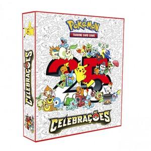 ALBUM Pokémon para cards tipo fichário - CELEBRAÇÃO 25 ANOS
