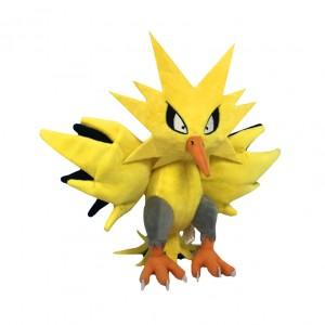 Pelúcia Turma Pokémon ZAPDOS  (30 cm) - Importada