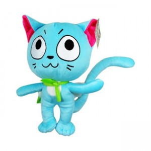Pelúcia Fairy Tail - GATO HAPPY (30cm)