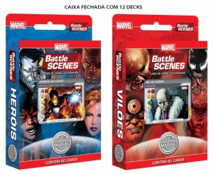 MARVEL Battle Scenes VILÕES Deck Box (12/60)