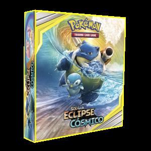 ALBUM Pokémon para cards tipo fichário - SOL&LUA; Eclipse Cósmico