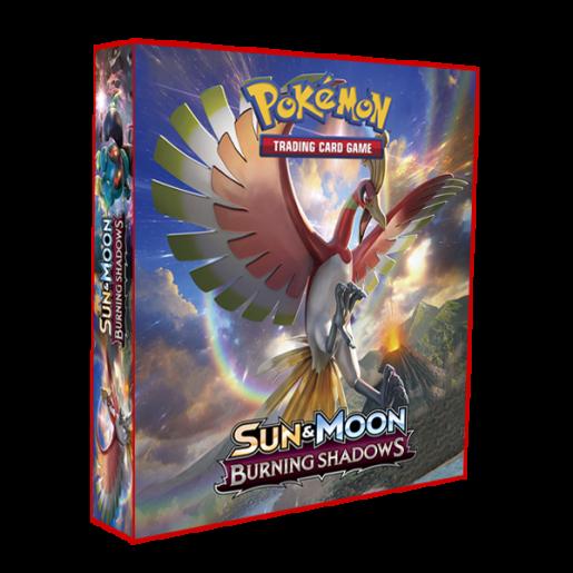 Álbum Pokémon para cards tipo fichário - SM BURNING SHADOWS