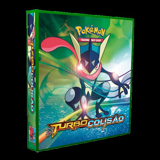 Álbum Pokémon - TURBO COLISÃO modelo 2